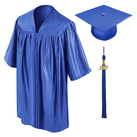 royal blue preschool cap gown amp tassel gradshop 576 | ps sh 022 0