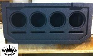 Chevy Avalanche Cadillac Escalade Speaker Box Midgate Sub