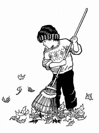 Coloriage Feuilles Automne Herfst Bladeren Harken Herbst