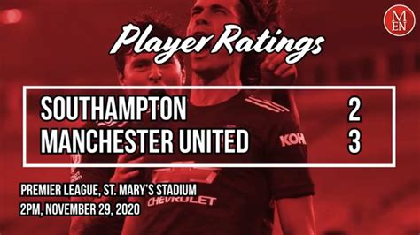 Man United player ratings vs Southampton: Fred and Marcus ...