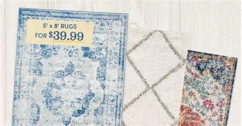 Wayfair Rugs Sale by Wayfair Sale 5x8 Area Rugs For 39 99 Southern Savers