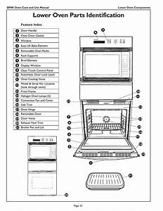 Lower Oven Parts Identification  Feature Index  Smw Oven