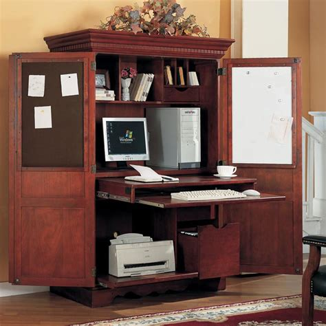 riverside furniture cantata computer armoire in burnished 28 cherry computer armoire yvotube com