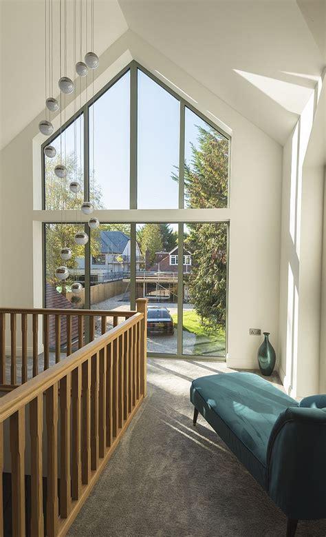 tall windows  gable  windows   maximise  light pouring   home
