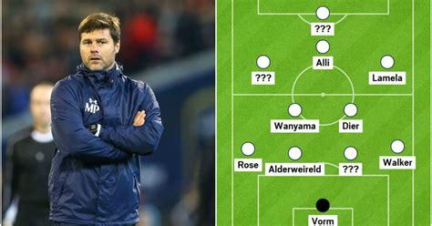 Tottenham v Crystal Palace: Tottenham starting XI that ...