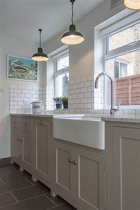 A galley with style devol kitchens
