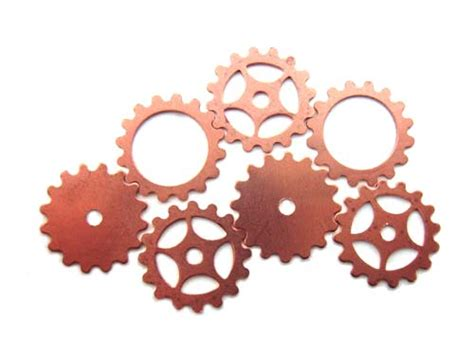 Copper Cogs & Gears Mix