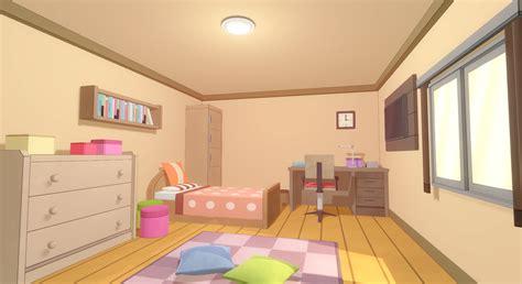 anime room  model