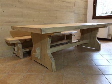 tavolo rustico tavoli in legno su misura fadini mobili cerea verona