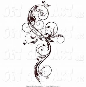 Royalty Free Stock Get Designs of Floral Scrolls