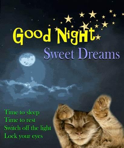 Dreams Night Sweet Card Goodnight Everyone Greetings