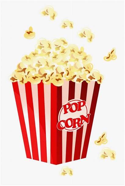 Popcorn Movie Clipart Clip Film Night Dancing