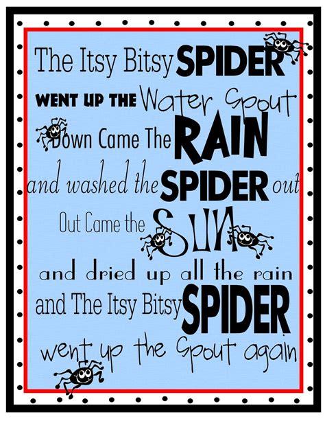 free printables for you free nursery rhyme printables