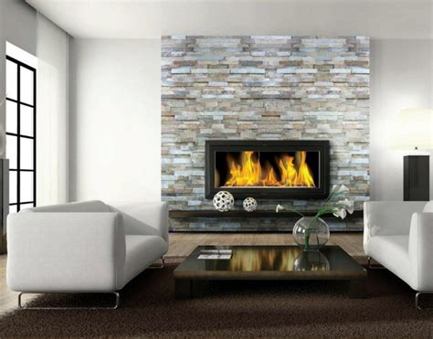 habillage cheminee insert moderne quel habillage pour chemin 233 e choisir poele 224 bois maison