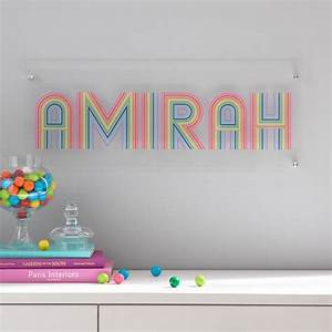 Flour Shop Rainbow Personalized Wall Art In 2020  With