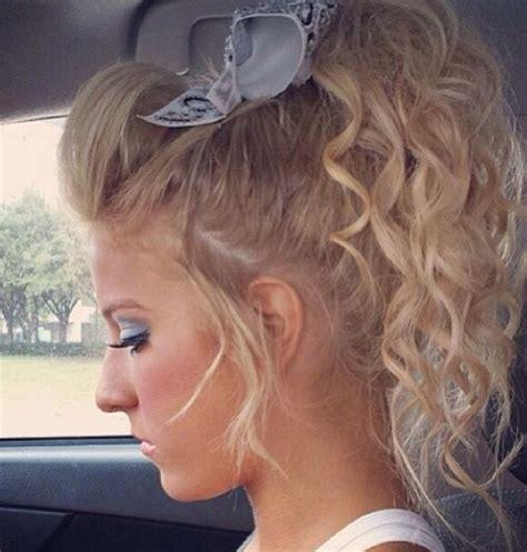243 best cheer hair images on pinterest cheer