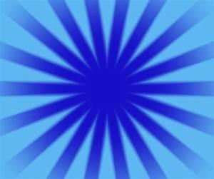 Blue, Star, Burst
