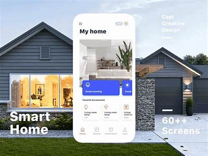 Smart Ui Kit Iot Dribbble Save Simple