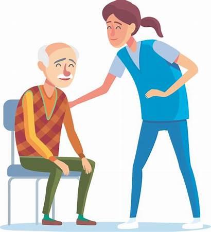 Clipart Fatigue Nurse Caregiver Nursing Cna Compassion
