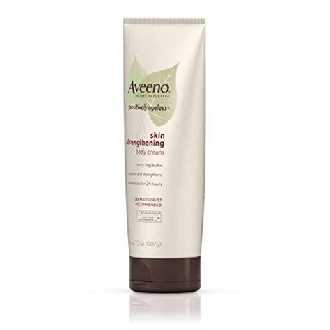 Aveeno Positively Ageless Skin Strengthening Body Cream ...