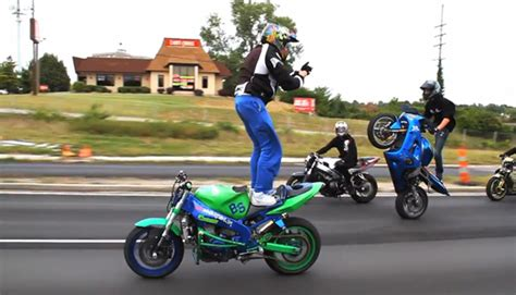 Watch Motorcycle Stunt Riders Take Over St. Louis In This