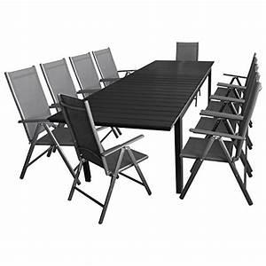 Polywood Gartenmöbel Set : 11tlg gartengarnitur sitzgruppe terrassenm bel gartenm bel set gartentisch polywood ~ Markanthonyermac.com Haus und Dekorationen