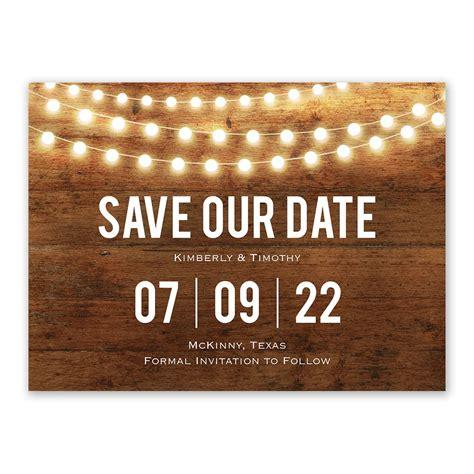 brilliant lights save  date anns bridal bargains