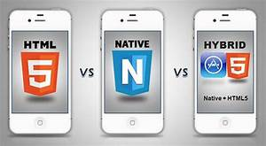 Native Hybrid Or HTML5 App Explore Features To Choose