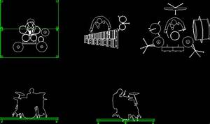 Percussion Scale Figures DWG Plan for AutoCAD • Designs CAD