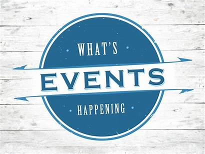 Events Updates Upcoming Fall