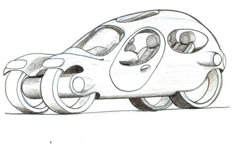 futuristic car drawing disney characters futuristic
