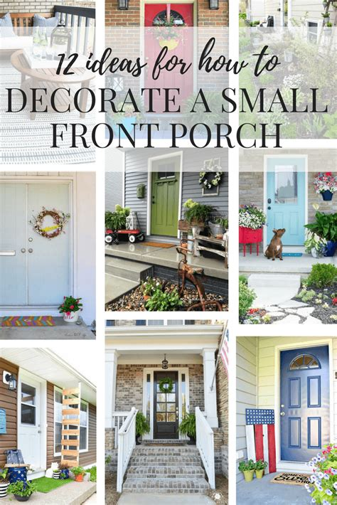 12 Welcomingsmall Front Porch Ideas Love And Renovations