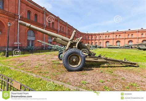soviet design bureau soviet 152 mm howitzer gun m1937 ml 20 stock photo