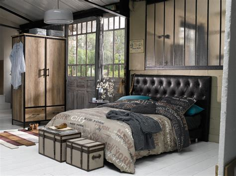 chambre style loft industriel chambre style industriel