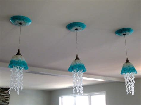 jellyfish pendant light jellyfish lights blown glass pendant lighting