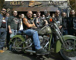SONNY BARGER OF HELLS ANGELS FAME WITH OTHERS - 8X10 ...