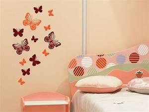 Wandtattoo Kinderzimmer Schmetterlinge : wandtattoo traumhafte schmetterlinge wandtattoo de ~ Sanjose-hotels-ca.com Haus und Dekorationen