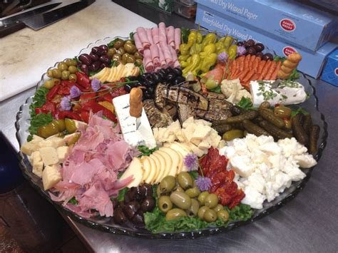 Actually, everything you wish, starting from finger food and finishing with sophisticated meal trays. Pin by Bob McKenna on Dinner creations   Antipasto tray ...