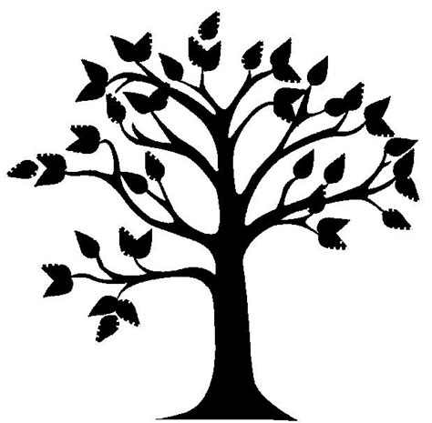 oak tree clipart black and white tree clip vector free clipart panda free clipart