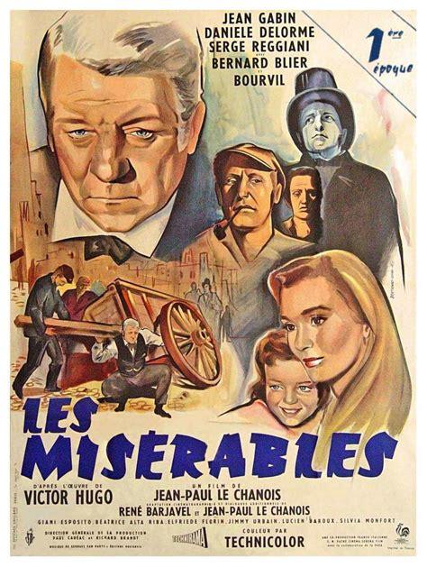 jean gabin i miserabili les miserables 1958 unifrance films