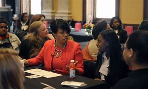 City girls follow mayor, business leaders for a day ...