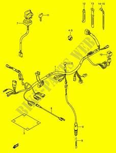 Wiring Harness  Model K5  K6  For Suzuki Ozark 250 2004