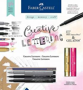 faber castell creative lettering kit marco39s paper With faber castell hand lettering kit