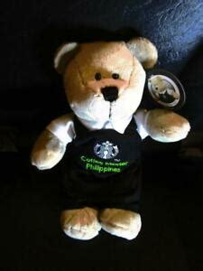 Cafe in the sandton area of johannesburg, south africa, on monday, jan. 2020 Starbucks COFFEE MASTER black apron bear limited edition plush PHILIPPINES | eBay