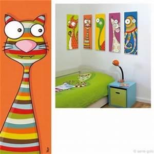 Tableau Deco Enfant : deco chambre fille tableau visuel 6 ~ Teatrodelosmanantiales.com Idées de Décoration