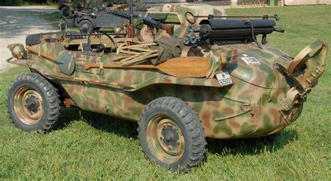 """1943 Type 166 Vw """"schwimmwagen"""" Was An Amphibious (car"""