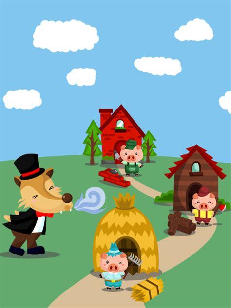 l histoire de la cuisine les 3 petits cochons momes