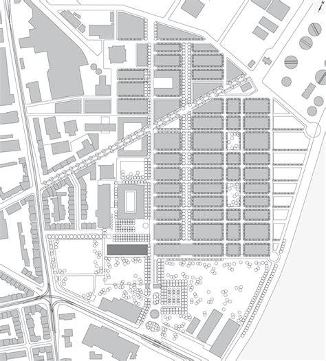 building site plan novartis cus forum 3 diener diener architekten