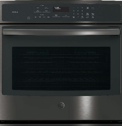 ptblts ge profile series  built  single convection wall oven black stainless