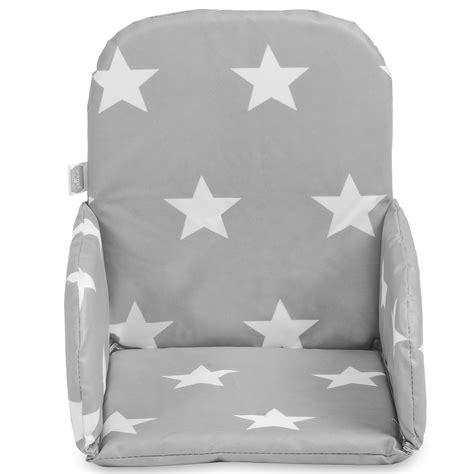coussin chaise haute bois coussin pour chaise bebe 26023 chaise idées
